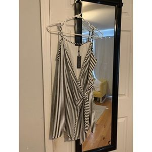 Cotton On Striped Tie Dress
